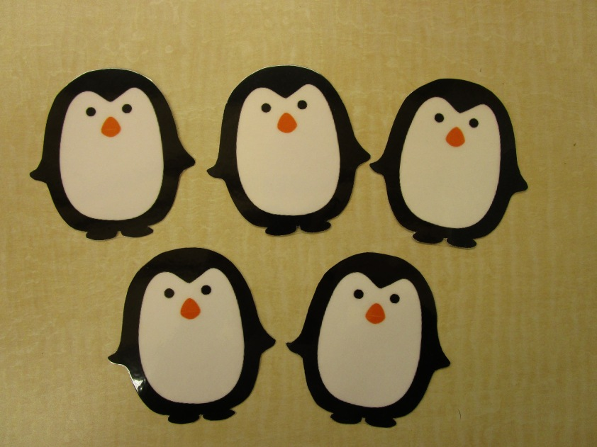 5 Little Penguins
